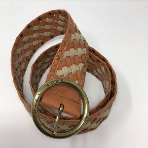 Michael Kors Weave Belt Size XL